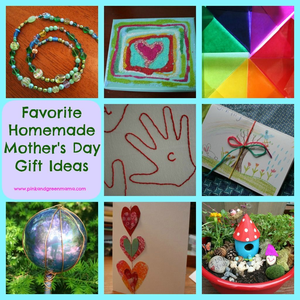Pinterest Homemade Gifts Pink And Green Mama Homemade Mother S