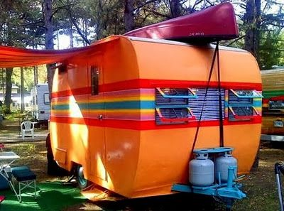 The Flying Tortoise: These Gorgeous Little Caravans Are Wonderfully Big On Style...