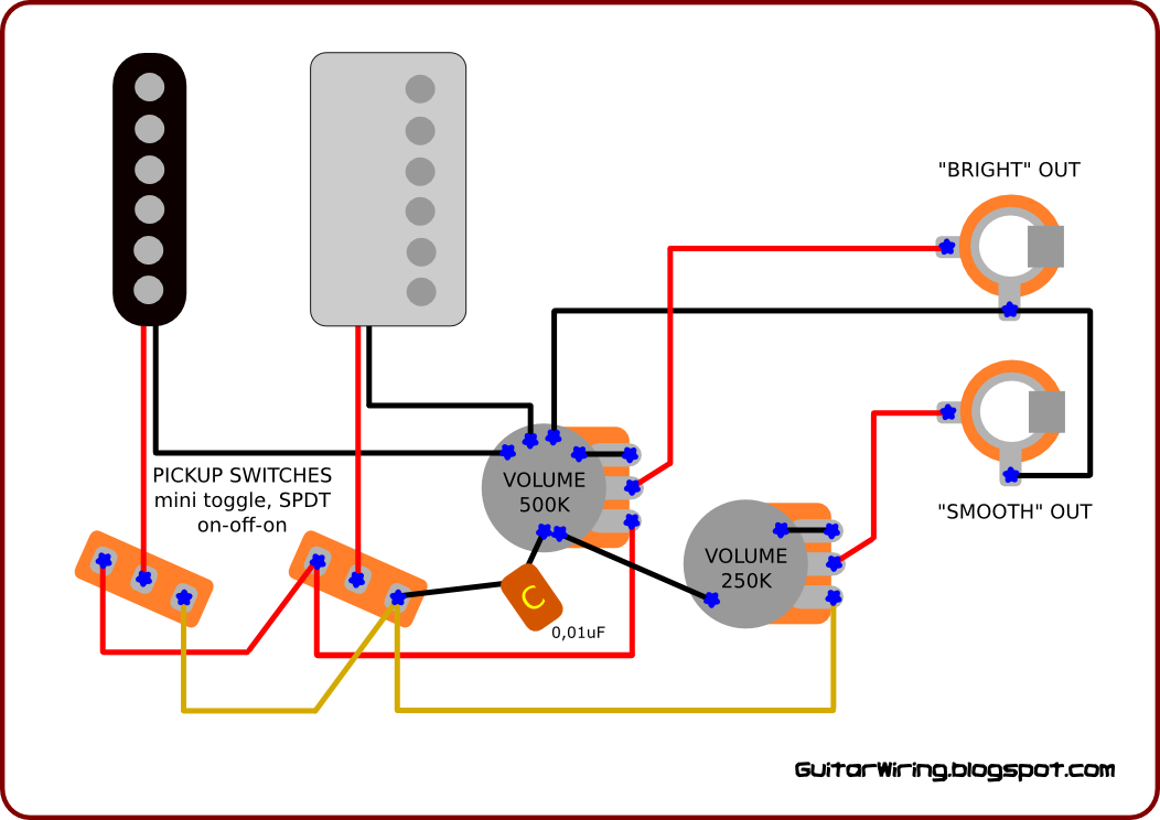 Guitar wiring diagrams: customization, DIY projects, mods For any electric guitar A lot of