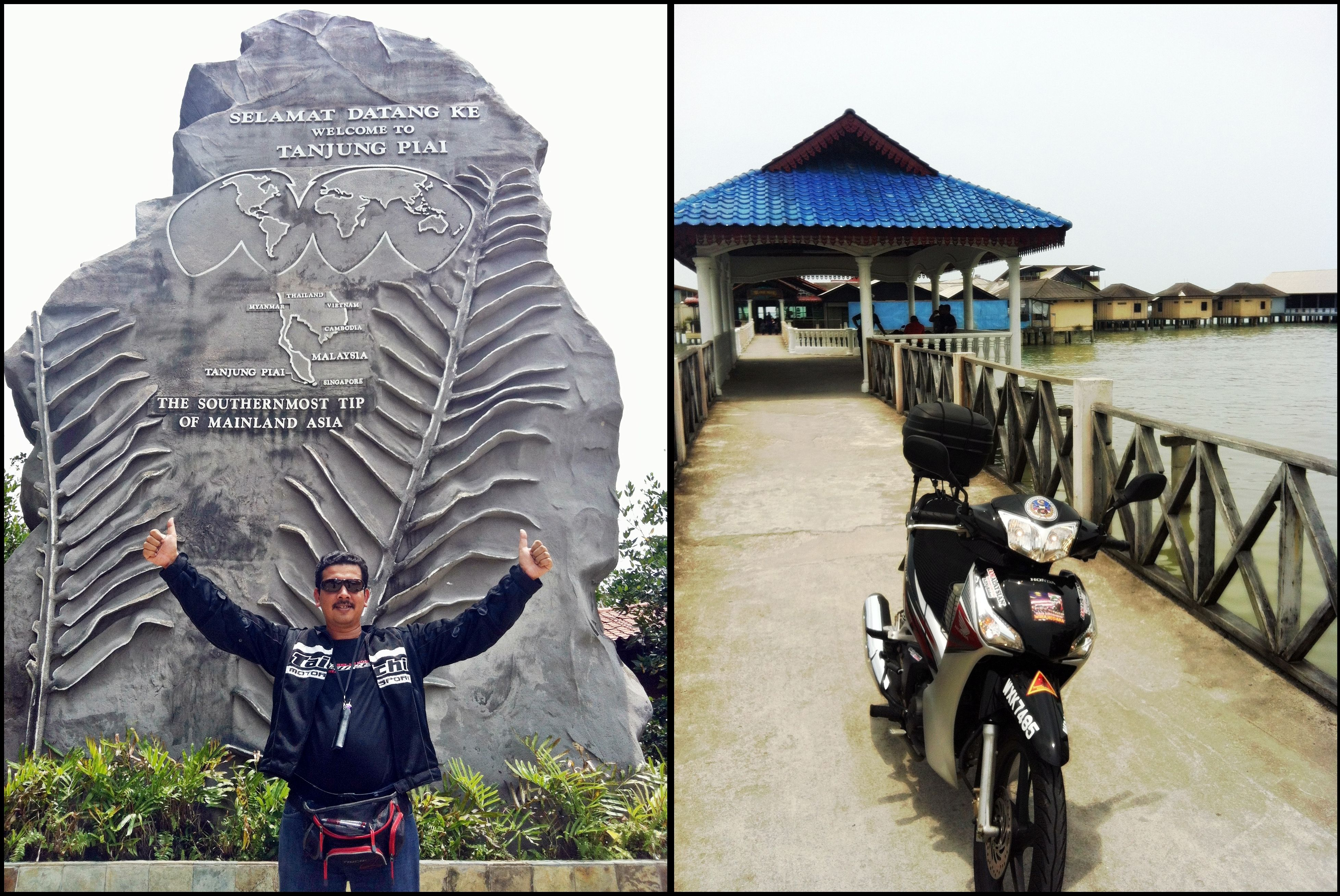 That is me! @ Tanjung Piai is a cape in Johor which is the ...