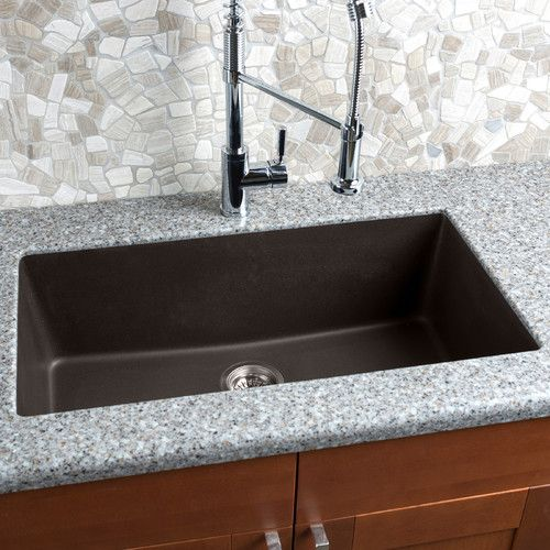 33 L X 18 5 W Granite Extra Large Single Bowl Kitchen Sink Single Bowl Kitchen Sink Sink Single Bowl Sink