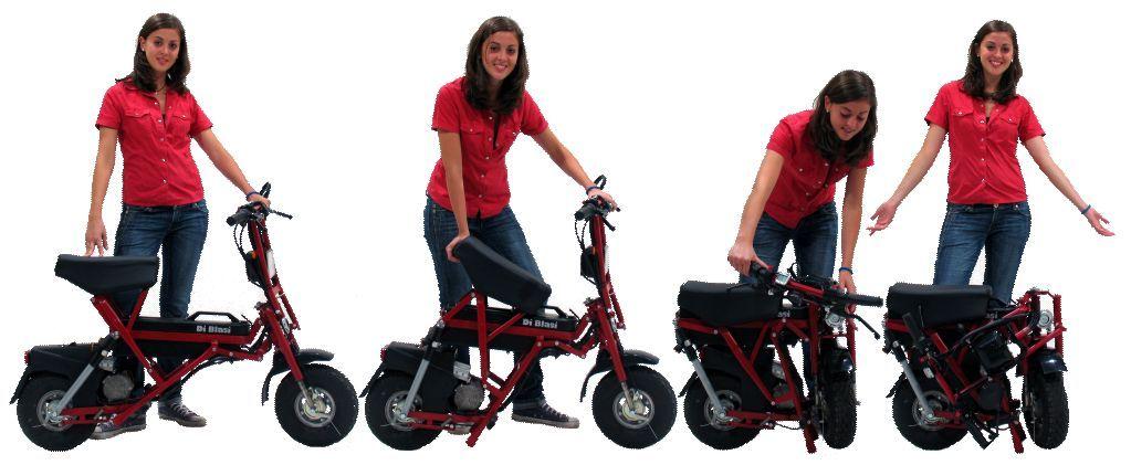Bici Pieghevole Di Blasi.Electric Folding Scooter Di Blasi Mod R70