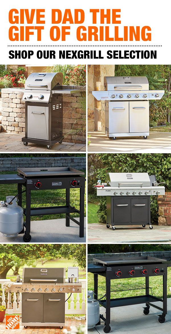 Make Father S Day Great For Dad By Firing Up A Top Quality Nexgrill From The Home Depot Fro Modular Outdoor Kitchens Outdoor Kitchen Kits Outdoor Refrigerator
