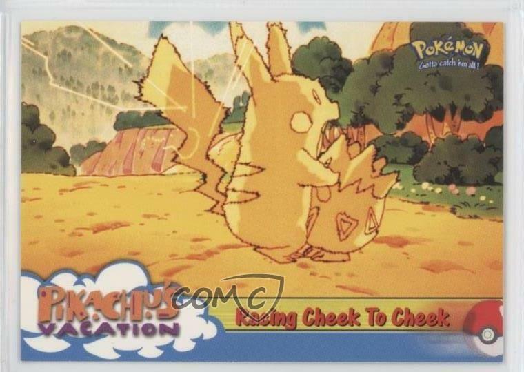 1999 pokemon movie animation edition first printing blue