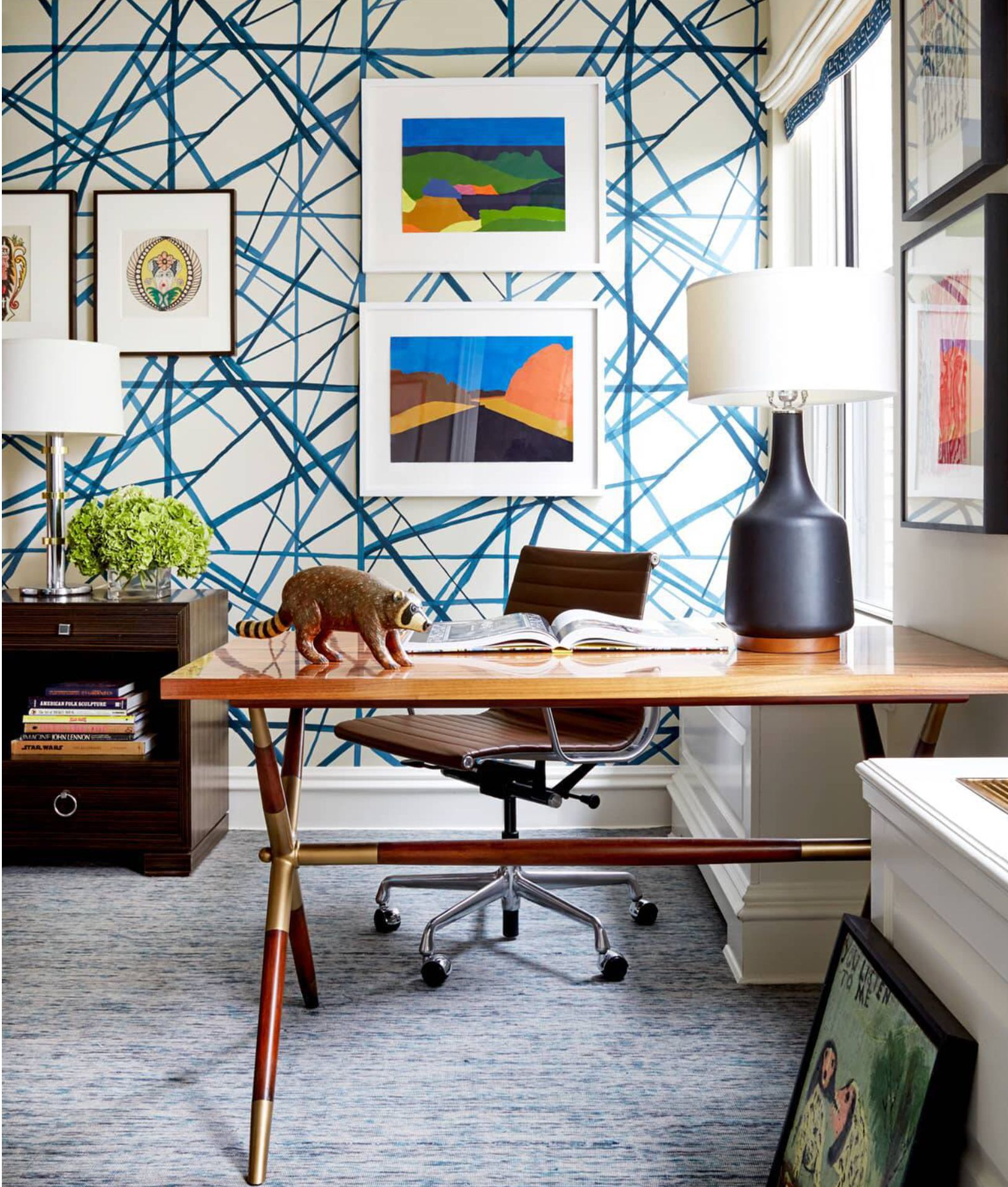 Back To Work In This Office No Problem Housewhole Wallpaper