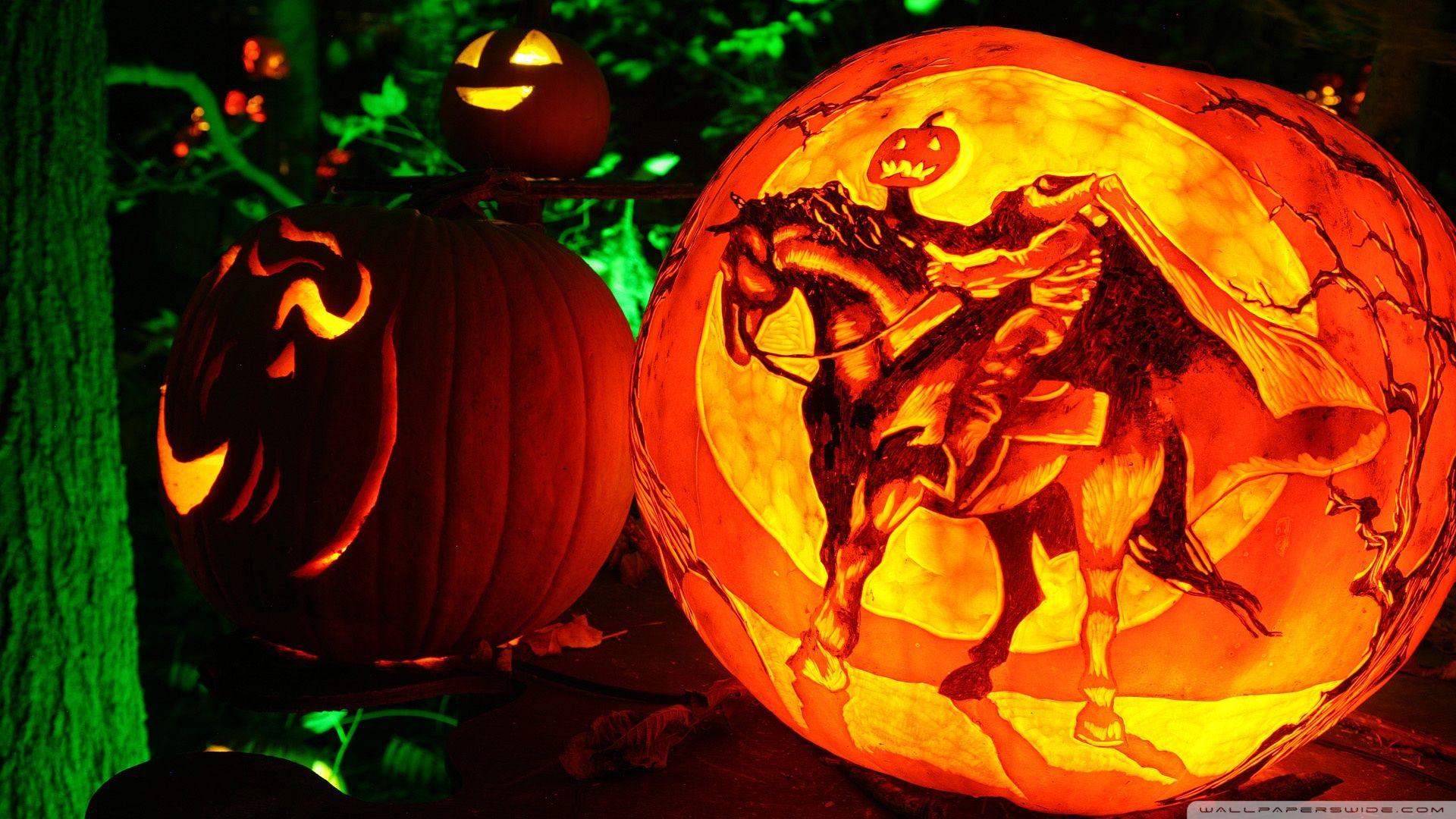 Jack O Lantern Wallpaper Widescreen Halloween Desktop Wallpaper Halloween Wallpaper Backgrounds Halloween Pictures