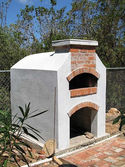 Bon Stucco And Brick Patio Oven Max Would LOVE Making Pizzas In There