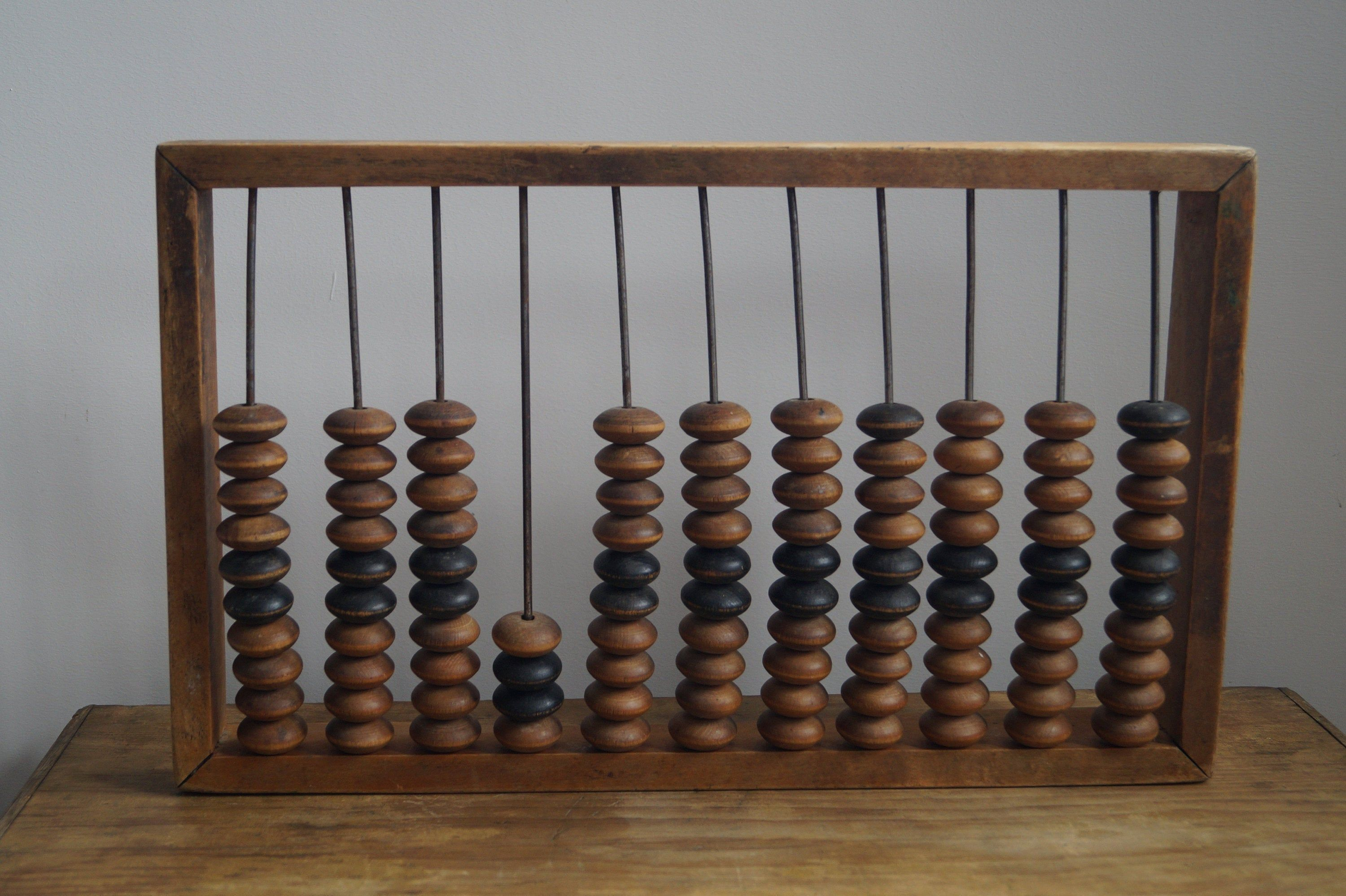 Large Vintage Wooden Abacus' | Wooden, Kids wooden toys ...