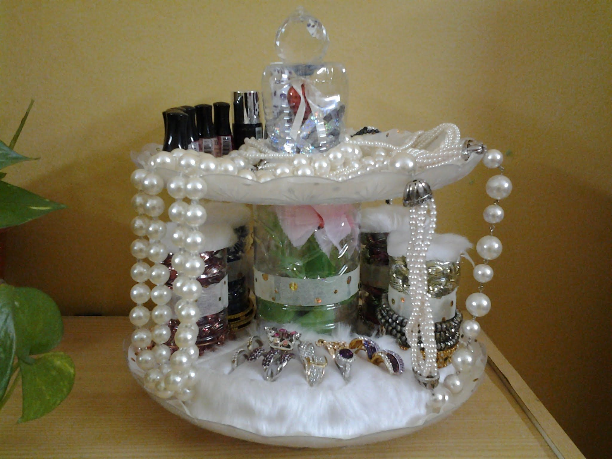 Best Out Of Waste Plastic Bottles \u0026 Plates Transformed to Jewelry Organizer & Best Out Of Waste Plastic Bottles \u0026 Plates Transformed to Jewelry ...