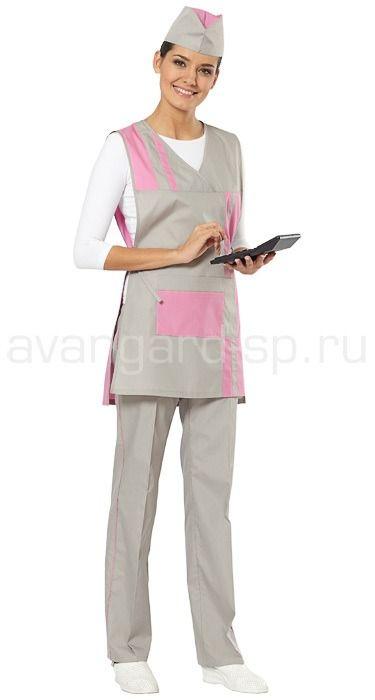 """Комплект """"Стиль"""" / Фартуки, сарафаны и комплекты / Одежда для индустрии гостеприимства"""