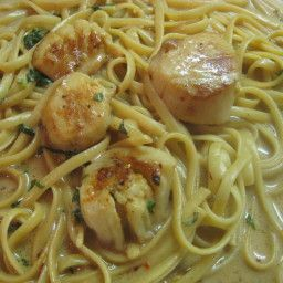Angel Hair Pasta With Scallop Saute Recipe In 2019 Seafood