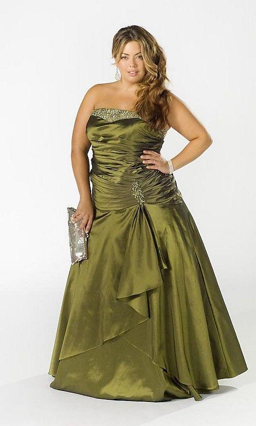 Vestidos De Noche Para Gorditas 2 Shoesfashion Dresses