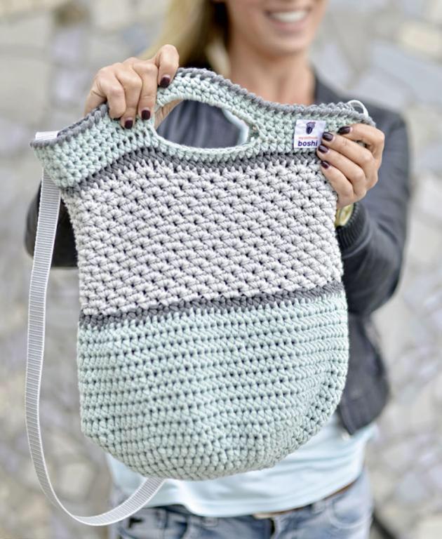 Instrucciones para bolso de crochet casual  – Bolsa