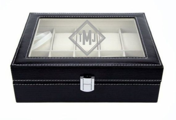 Engraved Watch Box Watch Case Watch Storage Box Watch Chest