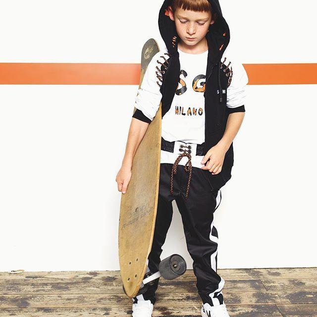 Urban sportwear for Spring #msgmkids #msgm 💥Boy collection #ss17 💥 #kidsstyle #kidswear #kidsfashion #kidsclothes #tv_kidz #ss17collection #springsummer #boycollection #fashionkids #fashionbaby #fashionboy #newcollection #outfitoftheday #dressyourfuture