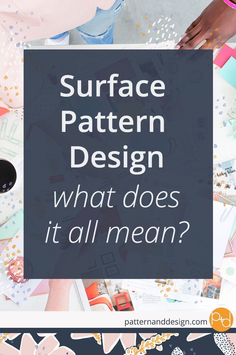 Surface pattern design reference guide #textiledesign