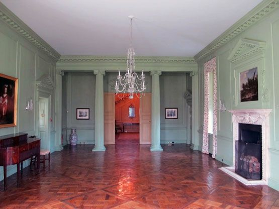 Big Old Houses Inside Castle Hill On The Crane Estate In Ipswich Massachusetts