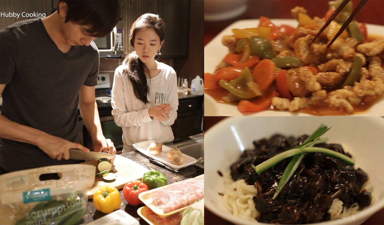 Hubby Cooking : Jajangmyun & Tangsooyook