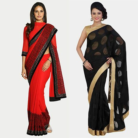 How to make sarees look stunning with stylish blouse ...