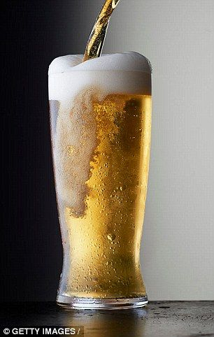 Large amounts of alcohol increase the risk of high blood pressure, especially in men