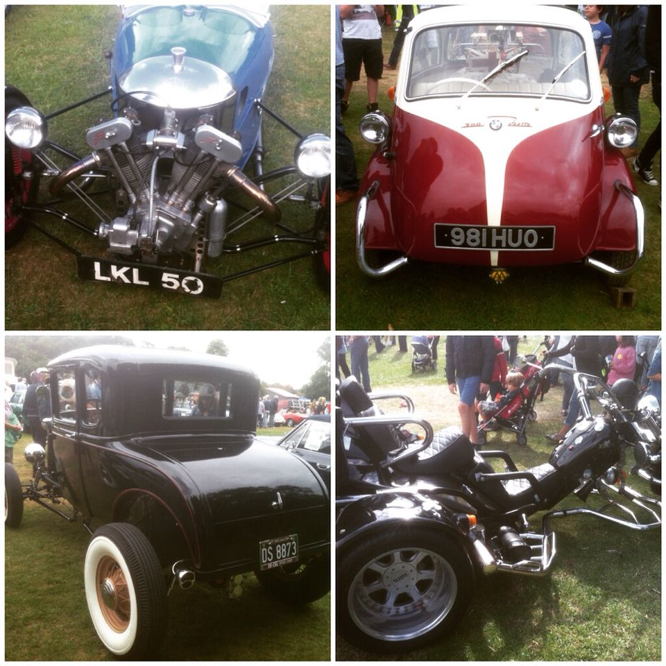 #classic #carshow. So many #coolcars this is just as a small selection of what was at this free well organised yearly show at classic cars on the green #Harpenden common