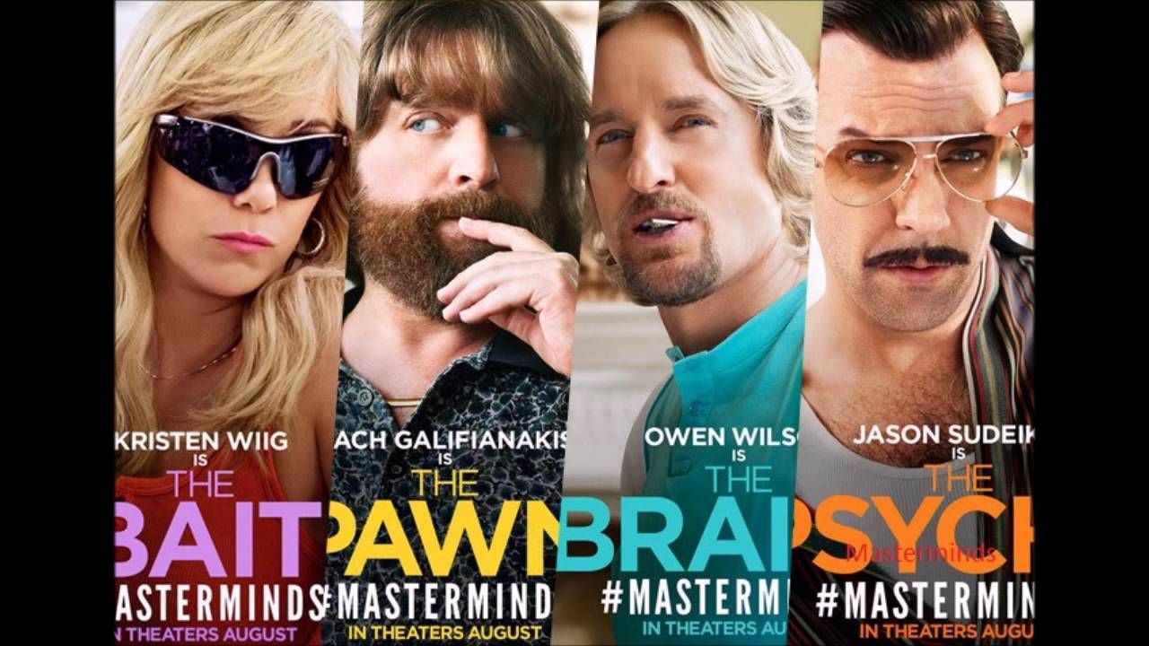 Masterminds Movie Car