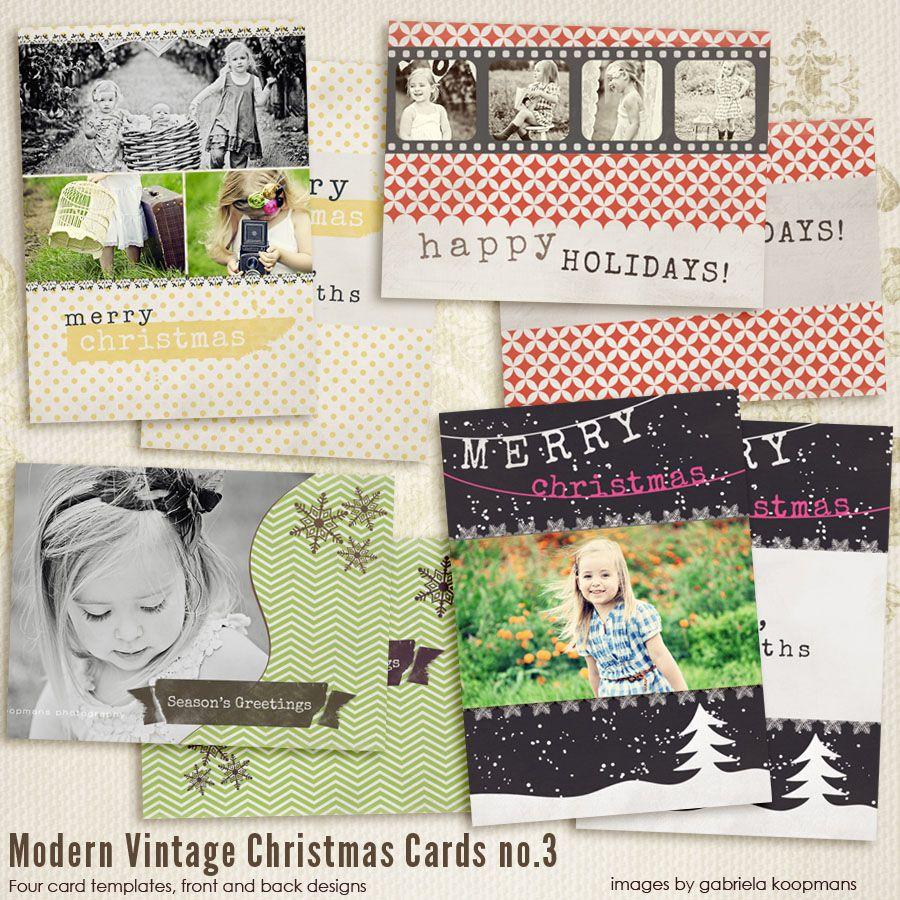 3 photo christmas cards