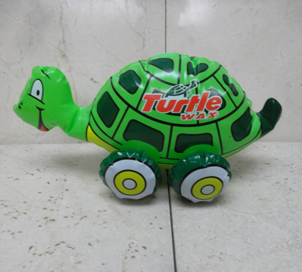 Explore Flea Market Finds, Flea Markets, and more! Vintage TURTLE WAX  TURTLE Inflatable Blow-Up Toy ...