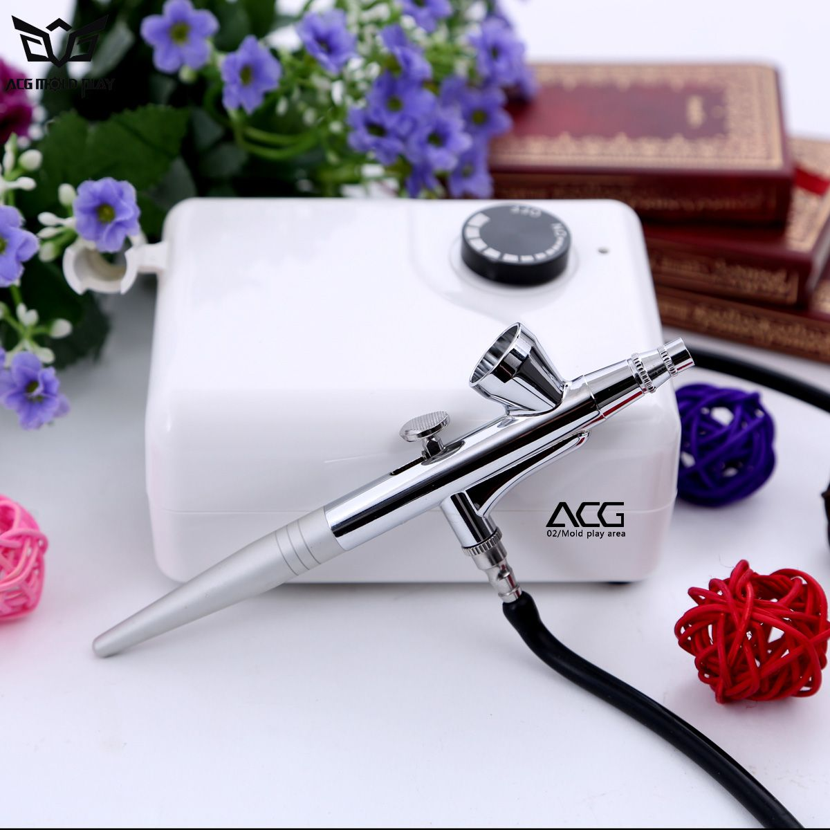 Mini HD Makeup Airbrush Air Compressor Oxygen Spray