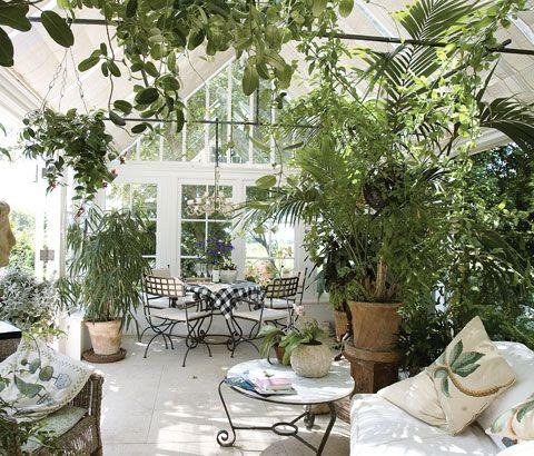 Vintageandart: Conservatories and Garden Rooms   Greenhouses and ...