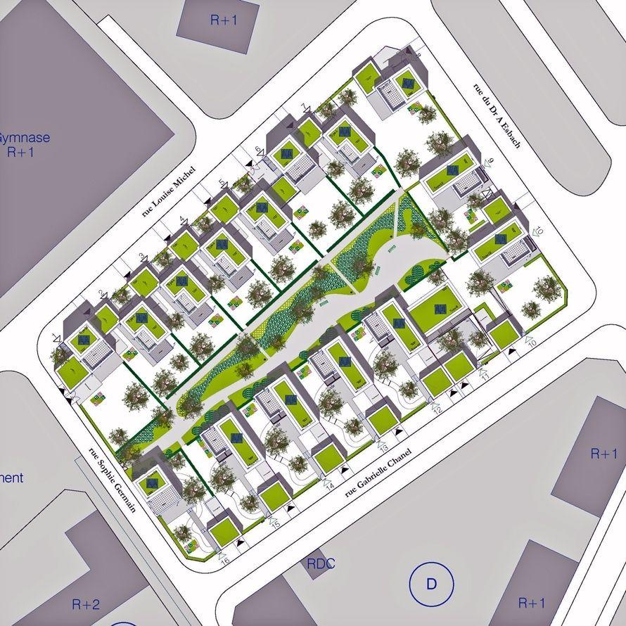 16 maisons locatives qe et passif quartier des merlattes atelierphilippemadec