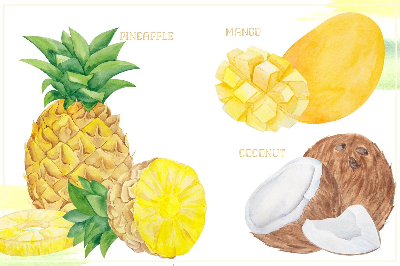 Fresh Bundle Vegetables And Fruits By Ma I Vi On Creativemarket