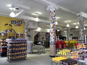 Check out the M&M'S World® Pop-Up Store in SoHo   IN New York