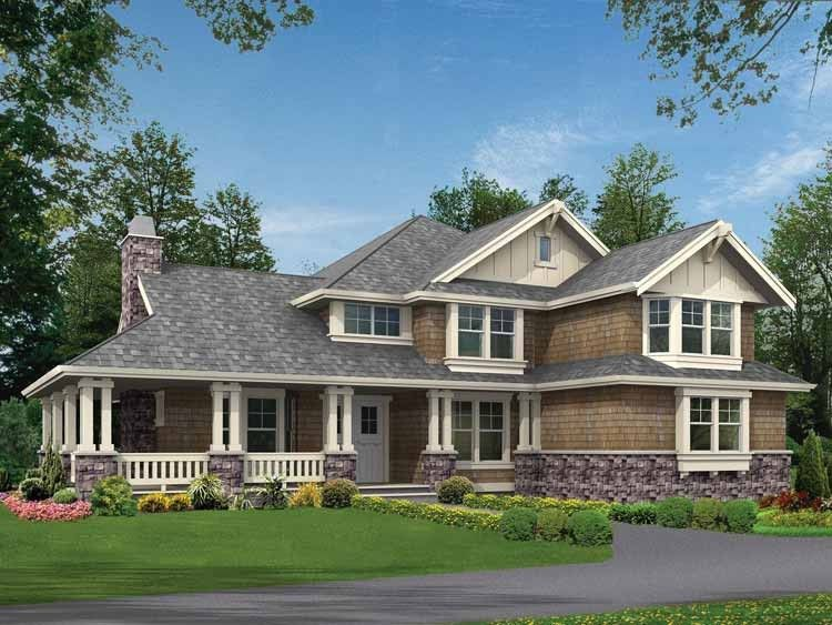 Craftsman Style House Plan 4 Beds 3 5 Baths 3590 Sq Ft Plan 132 237