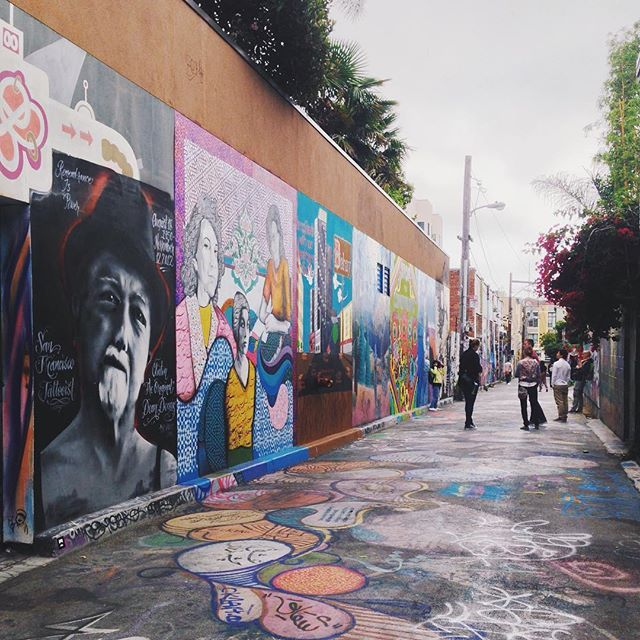 Art Places In San Francisco: Is This Alley The World's Most Instagrammable Place?