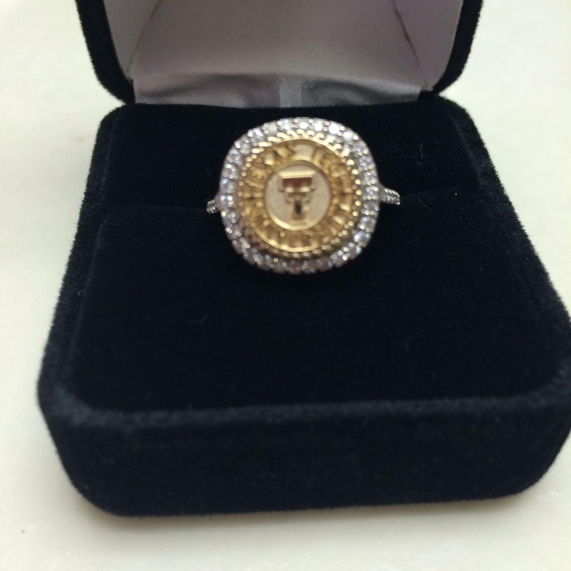 Texas Tech class ring from San Jose Jewelers.#texastech #classring
