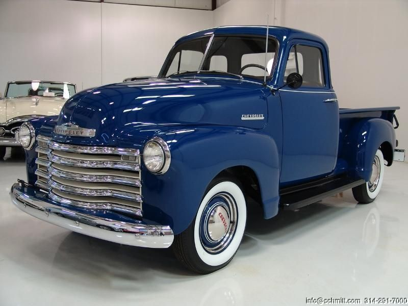 Daniel schmitt co classic car gallery presents 1952 for 1952 chevy truck 5 window