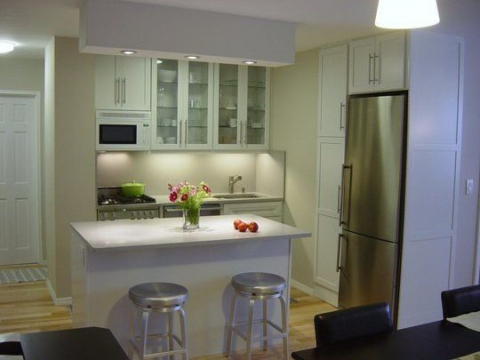 10 More Must See Small Cool Kitchens Mother In Law Apartment Small Kitchen Kitchenette