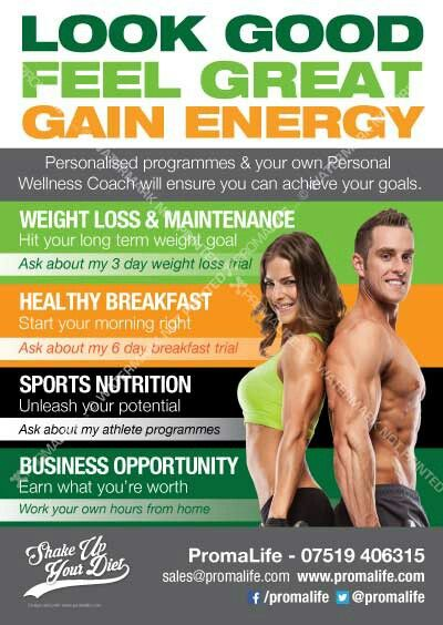 diet weight loss plan shake sales fitness coach