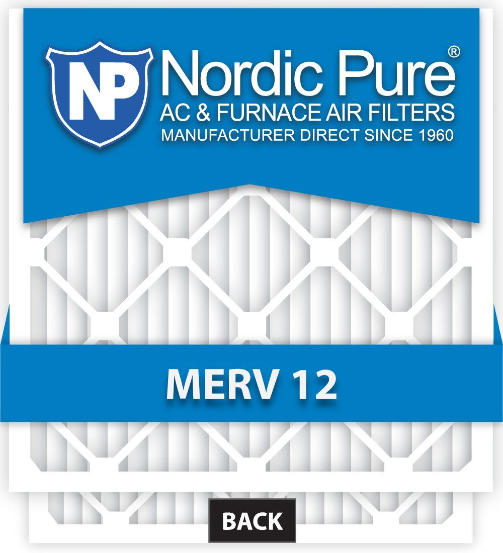 Nordic Pure 20x25x5 Honeywell Replacement AC Furnace Air