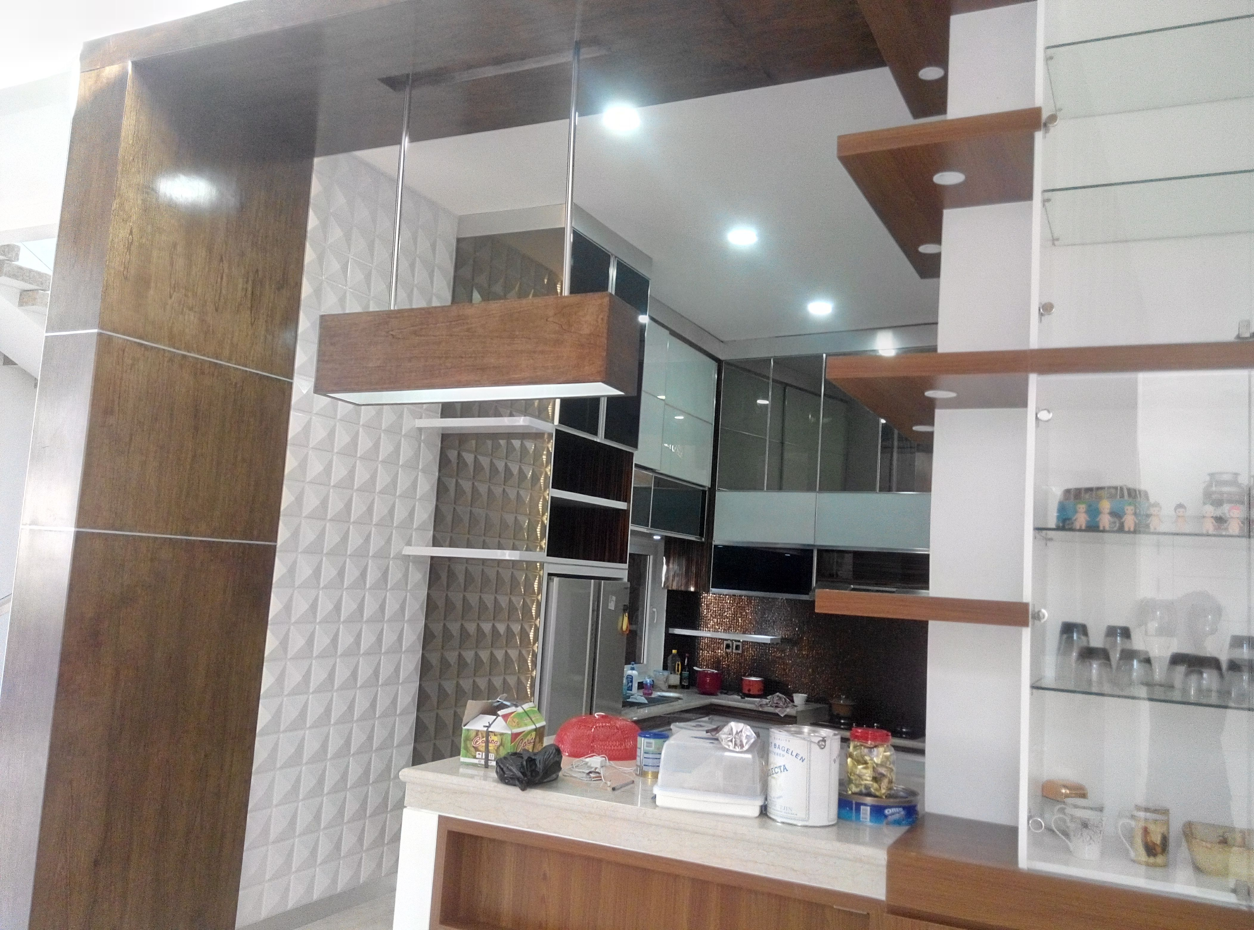 Minimalis and luxury kitchen set design and build by grasitama interior follow our ig