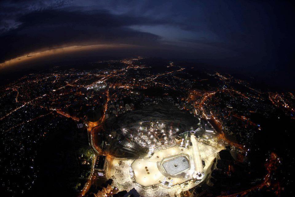 Kaaba Mecca Satellite View