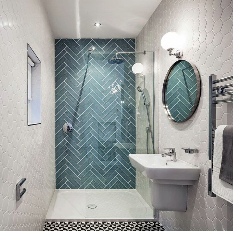 Bagni piccoli cerca con google irene pinterest decora o banheiro google e banheiros - Termoarredo per bagno 6 mq ...