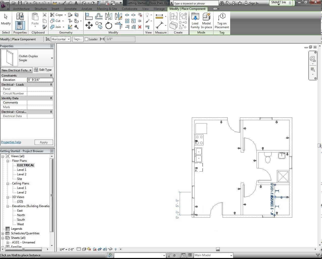 small resolution of revit tutorial electrical plan part 1