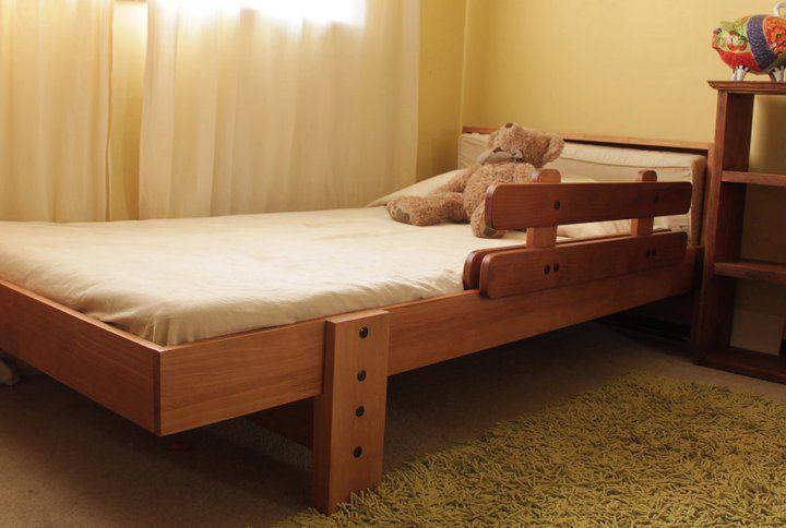 Baranda para cama cuna precio seguridad bebes pictures - Baranda de madera ...