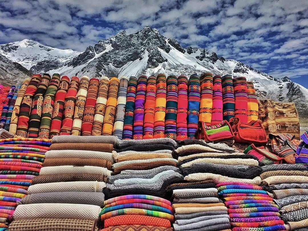 Roadside market..... Andean style!  Market between Sicuani and Marangani Cusco Peru  Photo thanks to @tessaclaireely check out her adventures on @thebusandus by discoversouthamerica