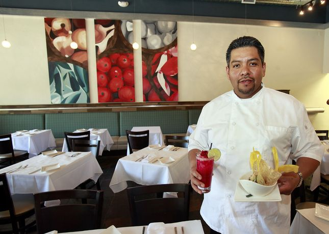Walnut Creek and Redwood City to host restaurant weeks in April.  Chef Manuel Martinez's LV Mar will participate in the inaugural Redwood City Restaurant Week.