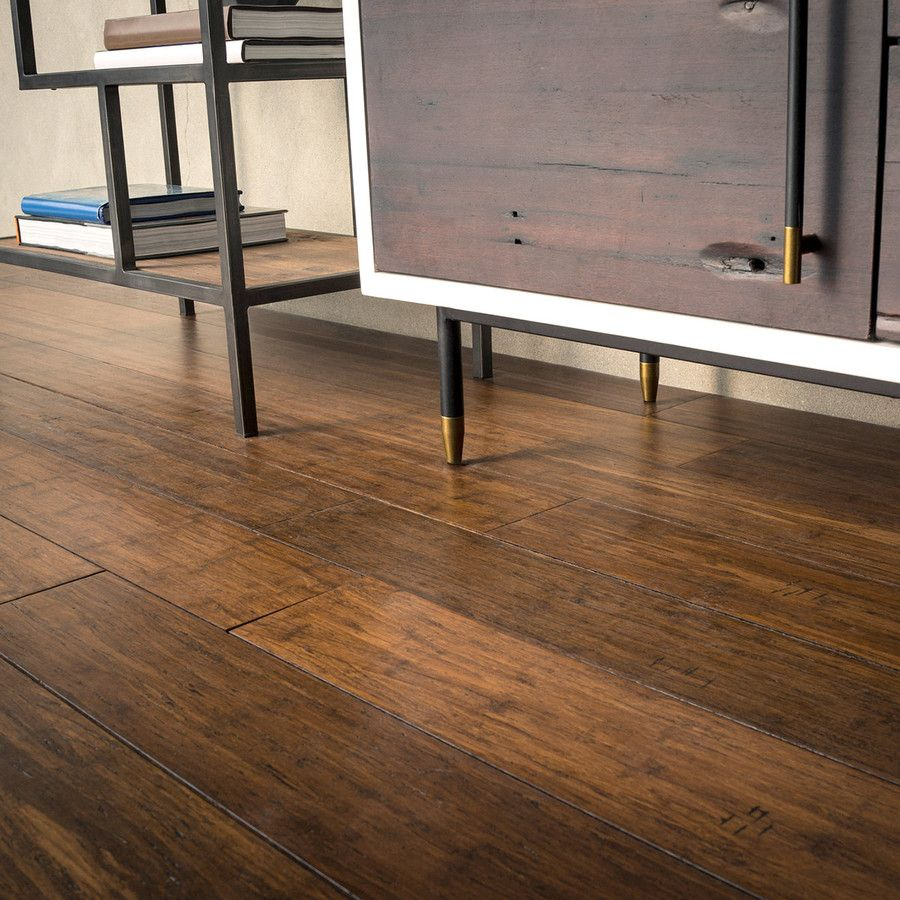Shop Cali Bamboo Fossilized 5 31 In Antique Java Bamboo Hardwood