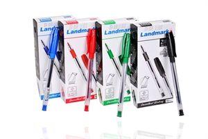 برناسوس Ball Pen Landmark Rotator Pen Ink Color Ball
