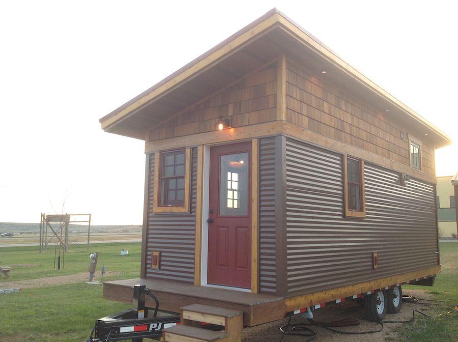 This Custom Gooseneck Trailer Tiny House On Wheels Was Built - Dakota tiny house on wheels